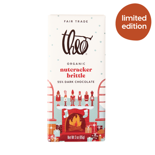 Theo Chocolate Nutcracker Brittle 55% Dark Chocolate