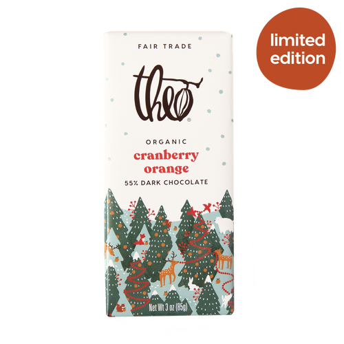 Theo Cranberry Orange 70% Dark Chocolate