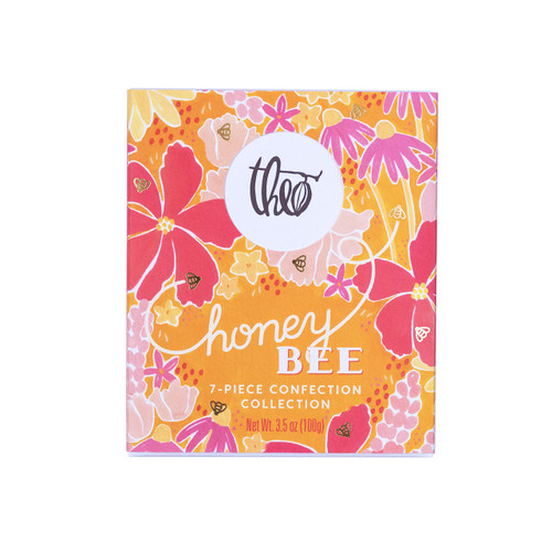 Theo Chocolate Honey Bee 7-Piece Confection Collection