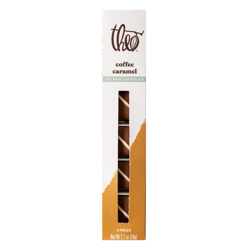 Theo Coffee Caramels 6 piece