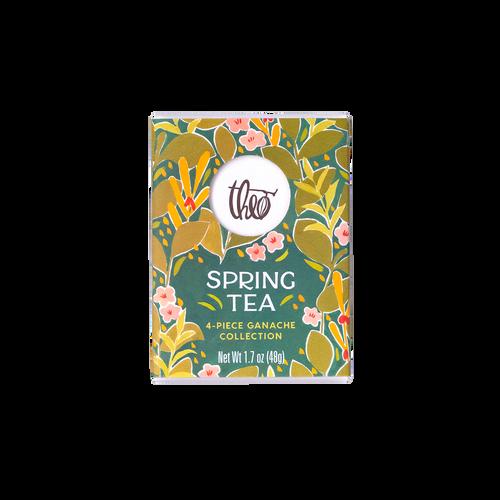 Theo Chocolate Spring Tea 4-piece ganache collection