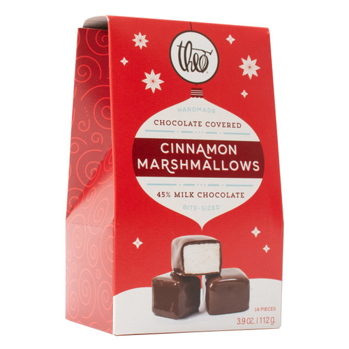 Theo Milk Chocolate Cinnamon Marshmallows