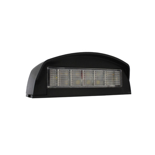 Ap84M Led License Plate Lamp Black 12 Le