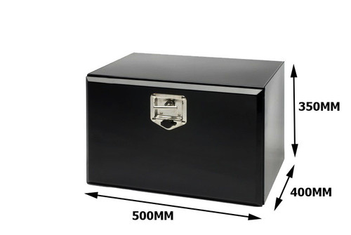 Toolbox Black Powder Coated 500X350X400