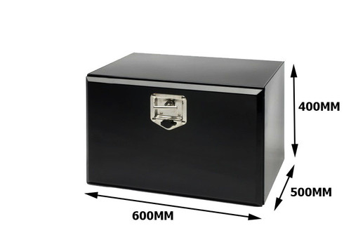 Toolbox Black Powder Coated 600X400X500