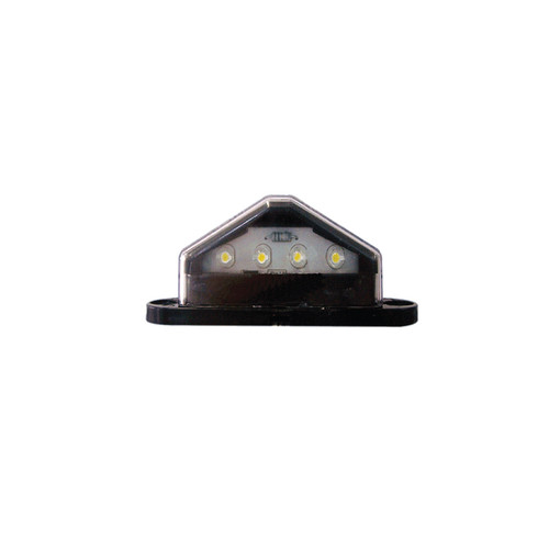 Ap45M Led License Plate Lamp Black 4 Led
