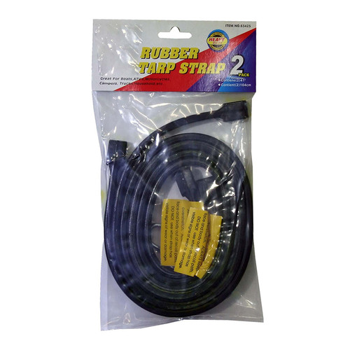 Rubber Tie Downs 2Pac 41 - 63425