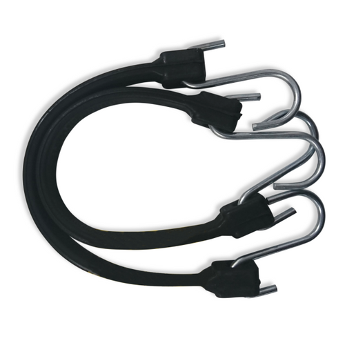 Rubber Tie Downs 2Pac 9 - 63407-2