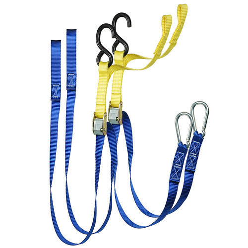 25mmx1.7m Motor Cycle Tie Down Snap Hook & S Hook