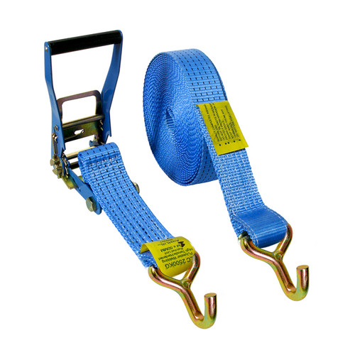 50mmx9m Ratchet Tie Down J Hook-2500kg