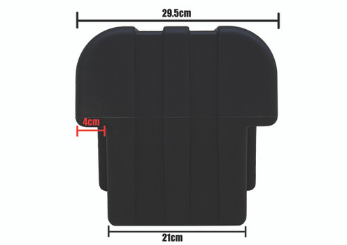 Water Tank 25Ltr Blk Poly C/W Tap & S/D
