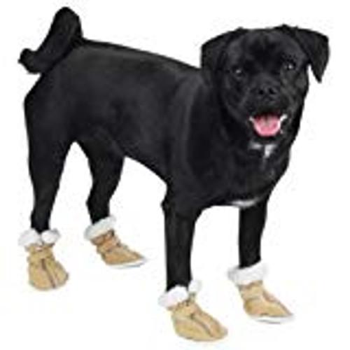 Tan Dog Boots