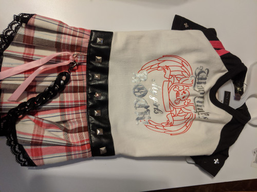 Rocker GIrl Skirt Outfit