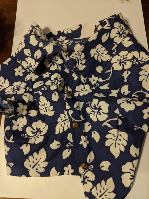 Hawaii Blue Dog Shirt