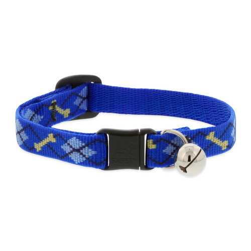 Blue Cat Safety Collar