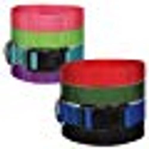 Black Nylon Dog Collars