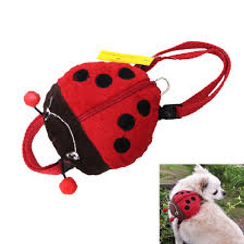 Ladybug Dog Harness