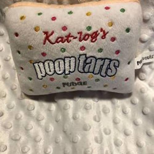 Poop Tarts Dog Toy