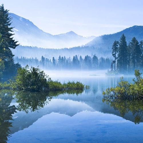 Morning Mountain Mist Zen Puzzle