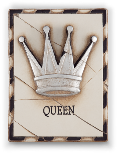 Queen (Silver) Memory Block Tile