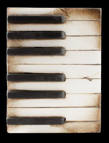 Piano Keys Memory Block Tile
