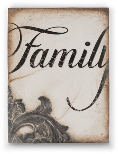 Family Memory Block Tile