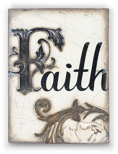 Faith Memory Block Tile