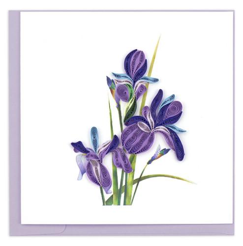 Iris Quilling Card