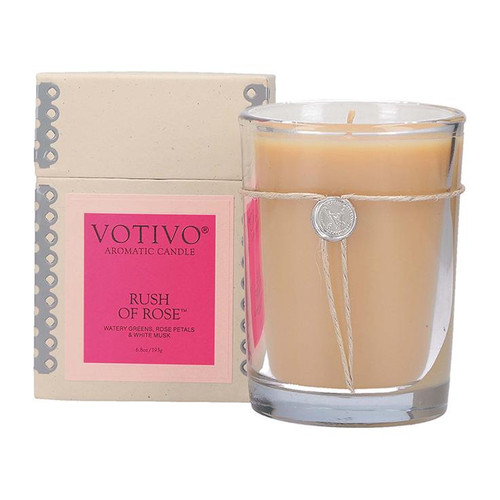 Rush of Rose Candle