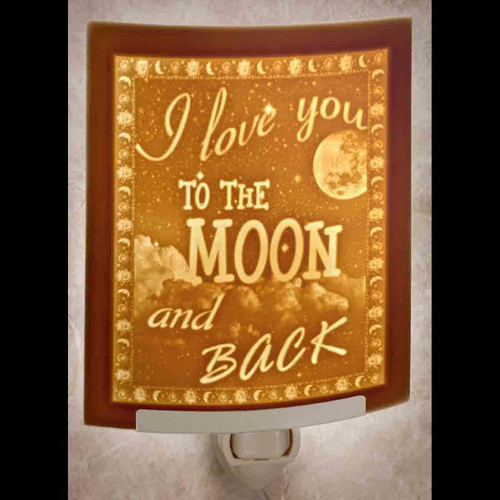 Love You To Moon Night Light