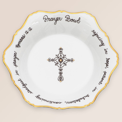 Celeste Porcelain Prayer Bowl