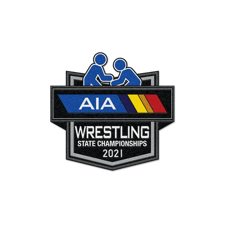 2021 AIA Wrestling State Championships Patch