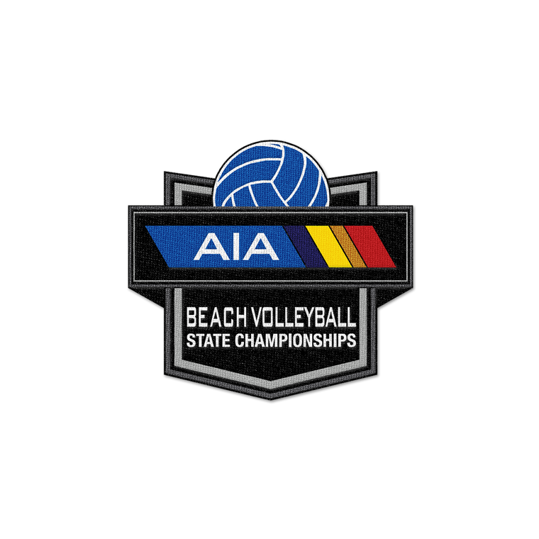 2021 AIA Beach Volleyball Championships Patch