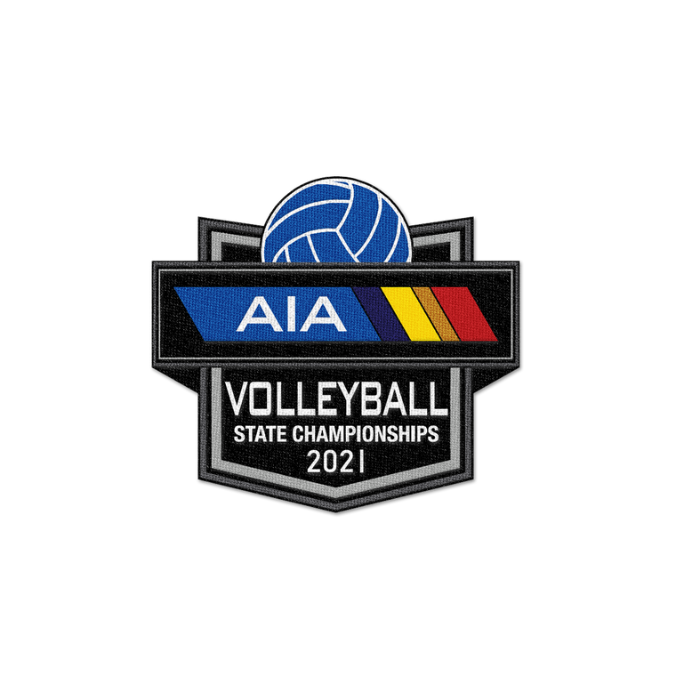 2021 AIA Volleyball Championships Patch