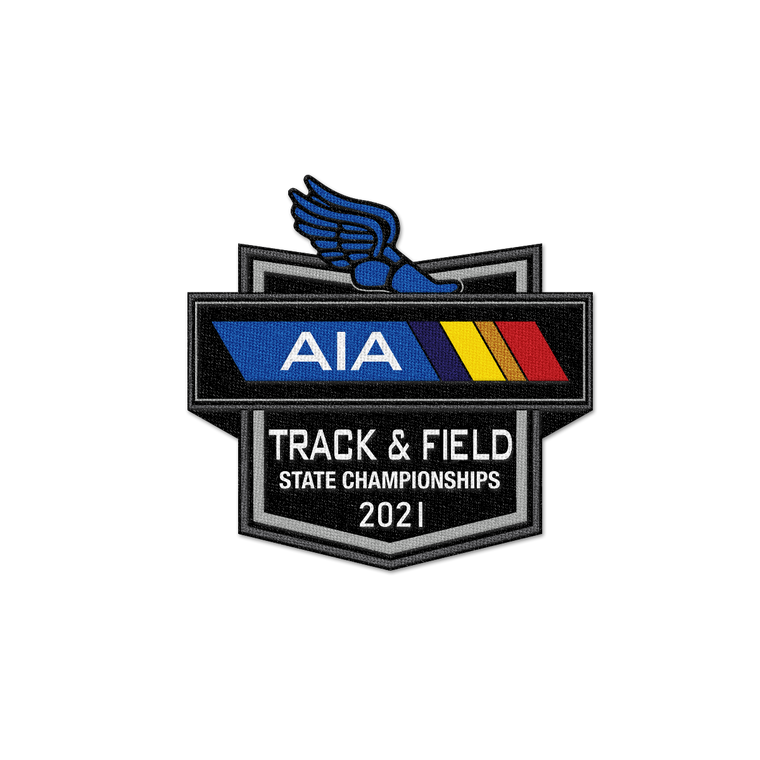 2021 AIA Track and Field State Championships Patch