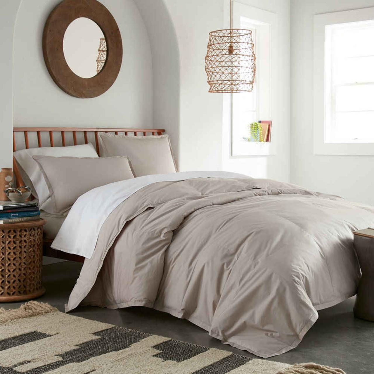 Pendleton Gray Down Alternative Comforter Downlite