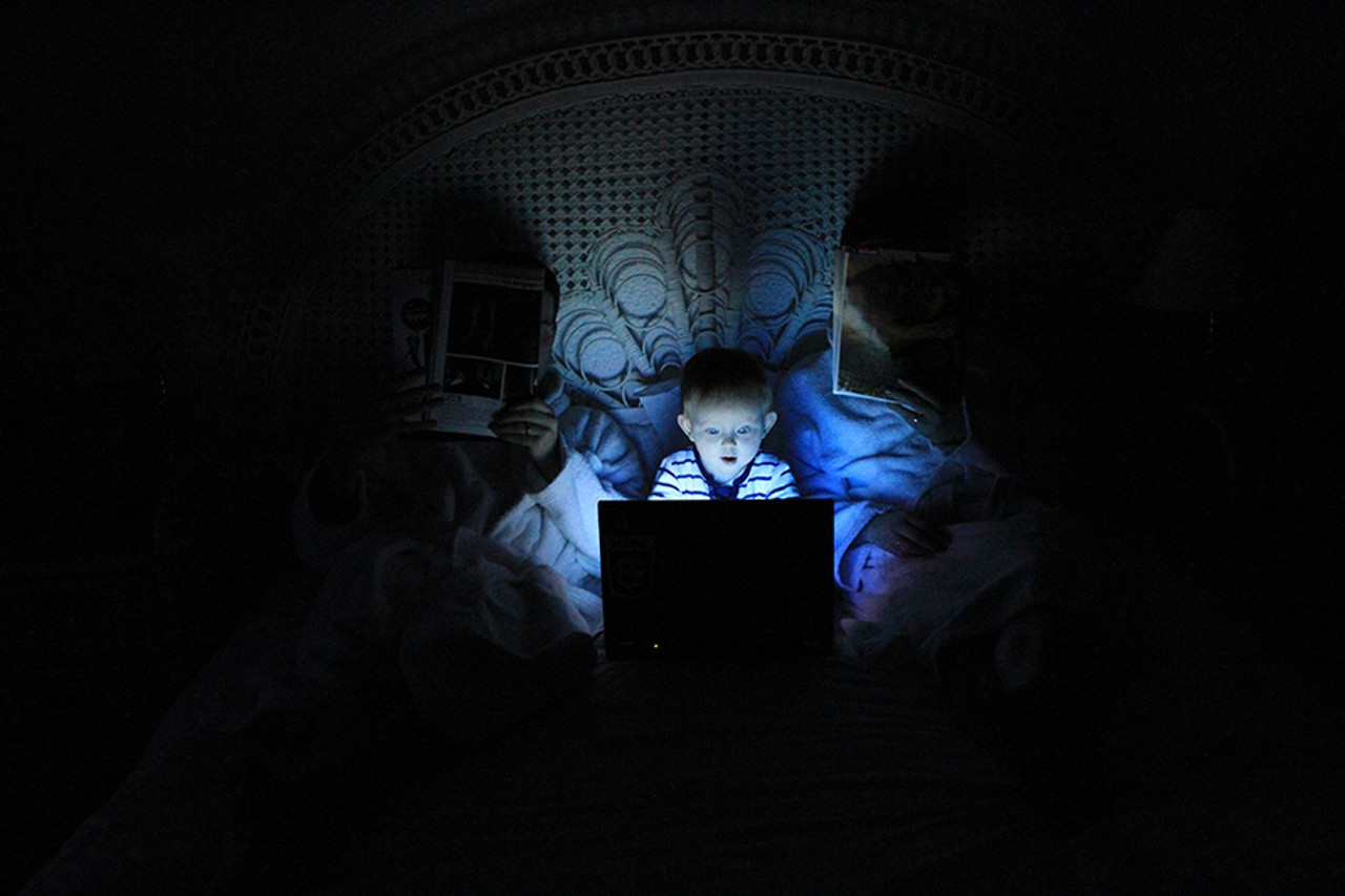 Blue Light and Bed Times