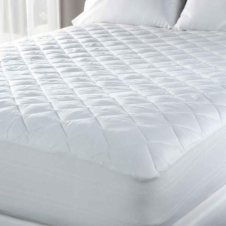 Eddie Bauer Eddie Bauer Medium Plush 300 TC Premium Cotton Sateen Mattress Pad - Queen and King Only