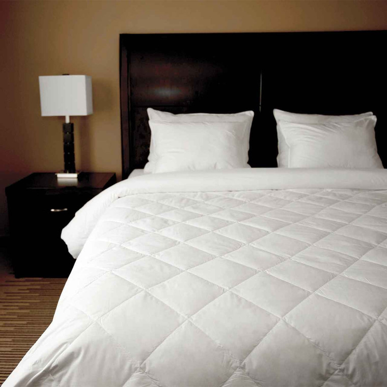 DOWNLITE Single Diamond Down Blanket - Twin XL and Full/Double Size Only
