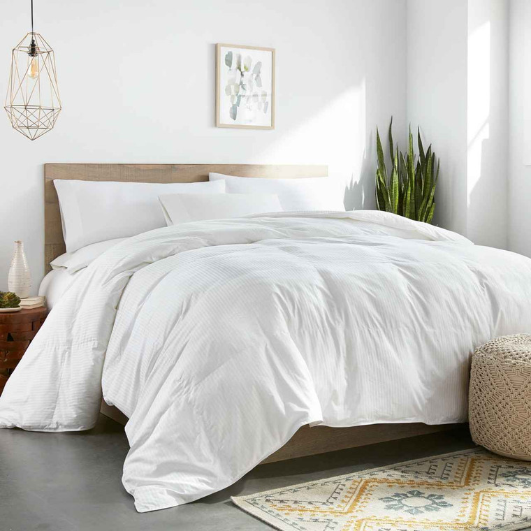 DOWNLITE Worlds Biggest Comforter - Colossal King Size Down Alternative 120 x 120 Inches