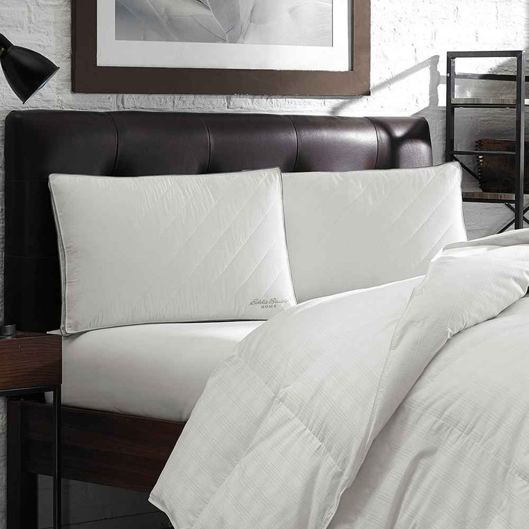 Eddie Bauer Eddie Bauer LiquiLoft 230 TC Quilted Microfiber Gel Pillow Twin Pack