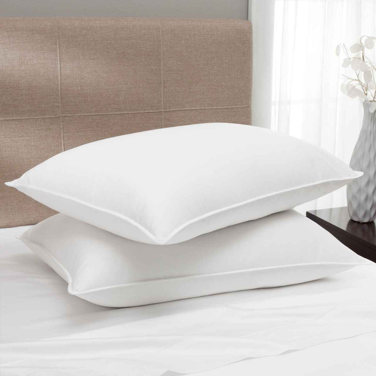 Dream Naturally Dream Naturally 650 Fill Power 400 TC USA Down Pillow - Multiple Densities