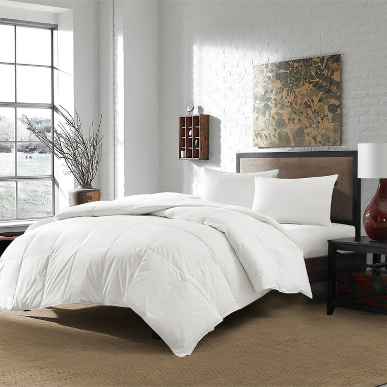 DOWNLITE USA Origin 400 TC Sateen White Down Extra Warmth Comforter