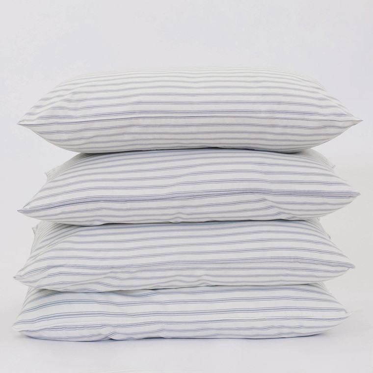 DOWNLITE Downlite Softer/Medium Density Granny Stripe 4 Pack Down Alternative Pillows