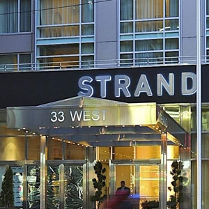 The Strand NY Hotel Bedding