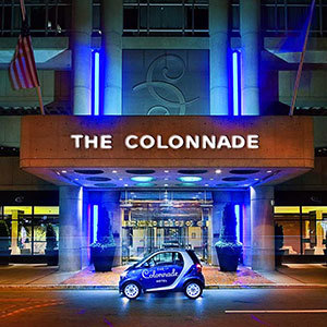 The Colonnade Hotel Bedding