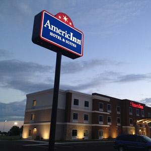 AmericInn Hotel Bedding