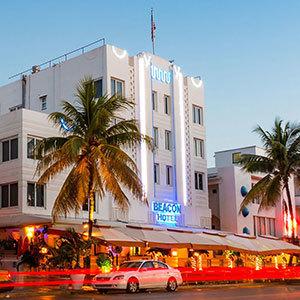Beacon South Beach Hotel Bedding