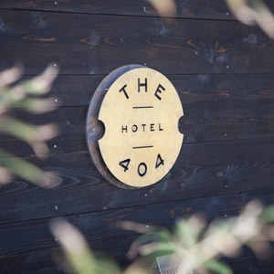 The 404 Hotel Bedding