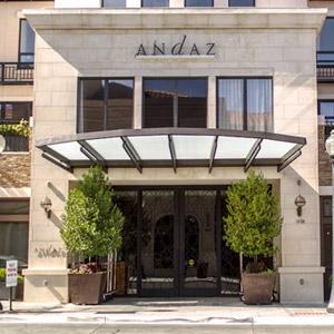 Andaz Hotel Bedding